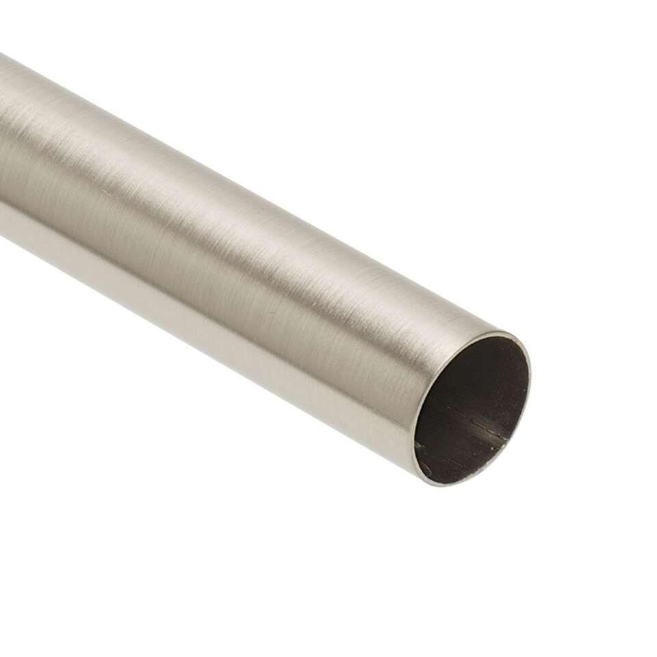 roede 28 mm zilverkleur 240 cm