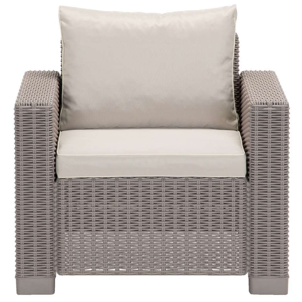 Allibert fauteuil California - cappuccino - Leen Bakker