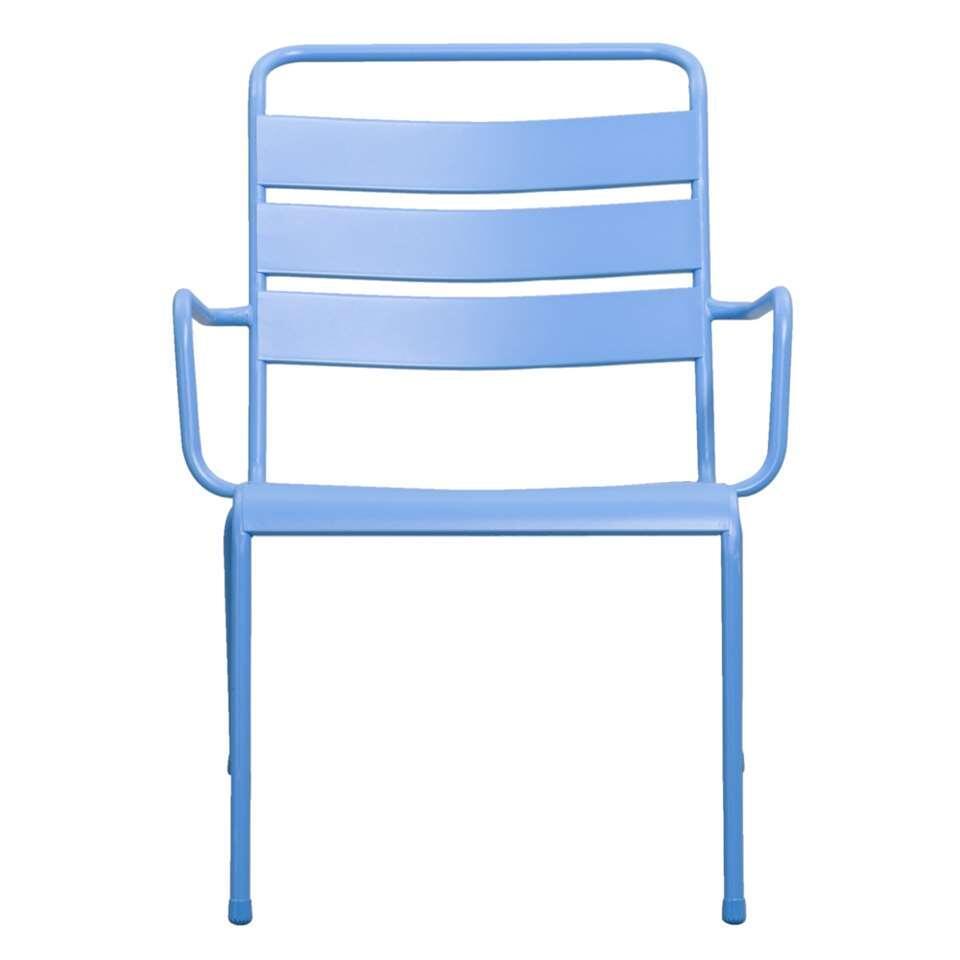 Loungestoel Fortaleze - blauw - Leen Bakker