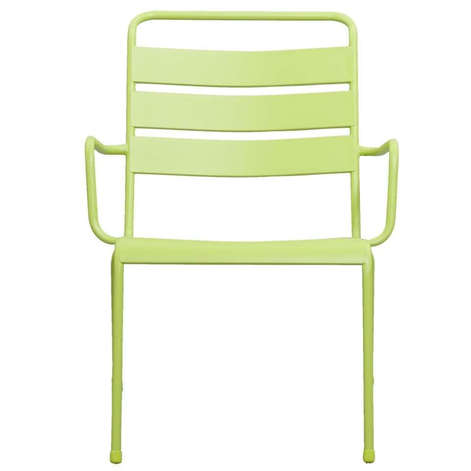 Loungestoel Fortaleze - groen - Leen Bakker