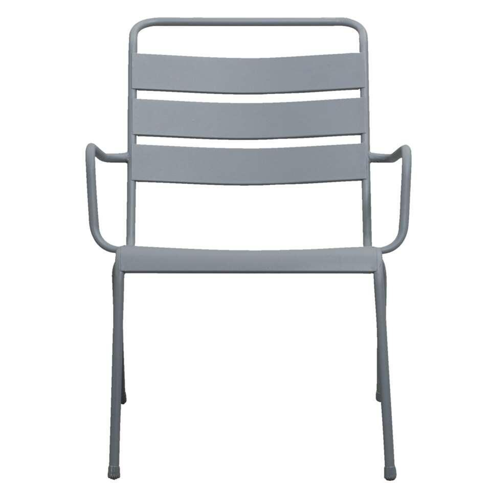 Loungestoel Fortaleze - grijs - Leen Bakker