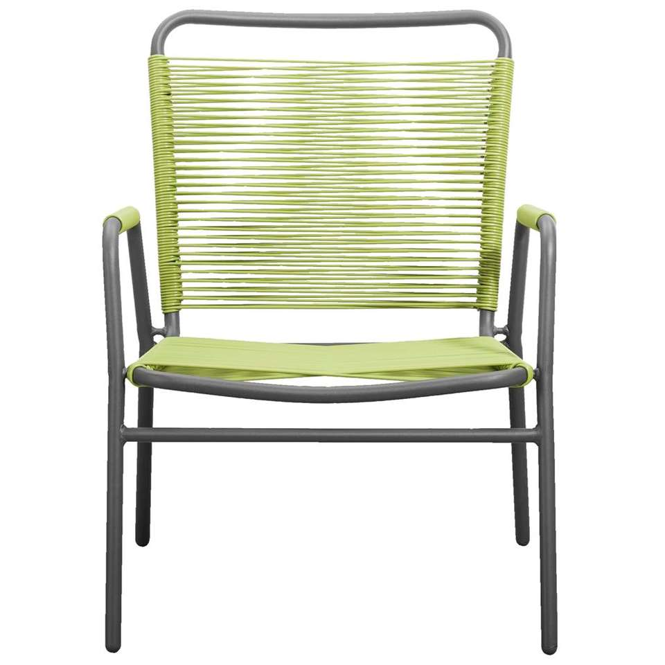 Loungefauteuil Cartagena - groen - Leen Bakker