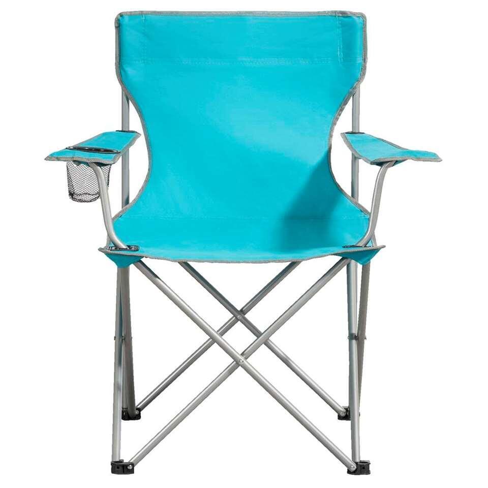 Campingstoel Bahama - blauw - Leen Bakker