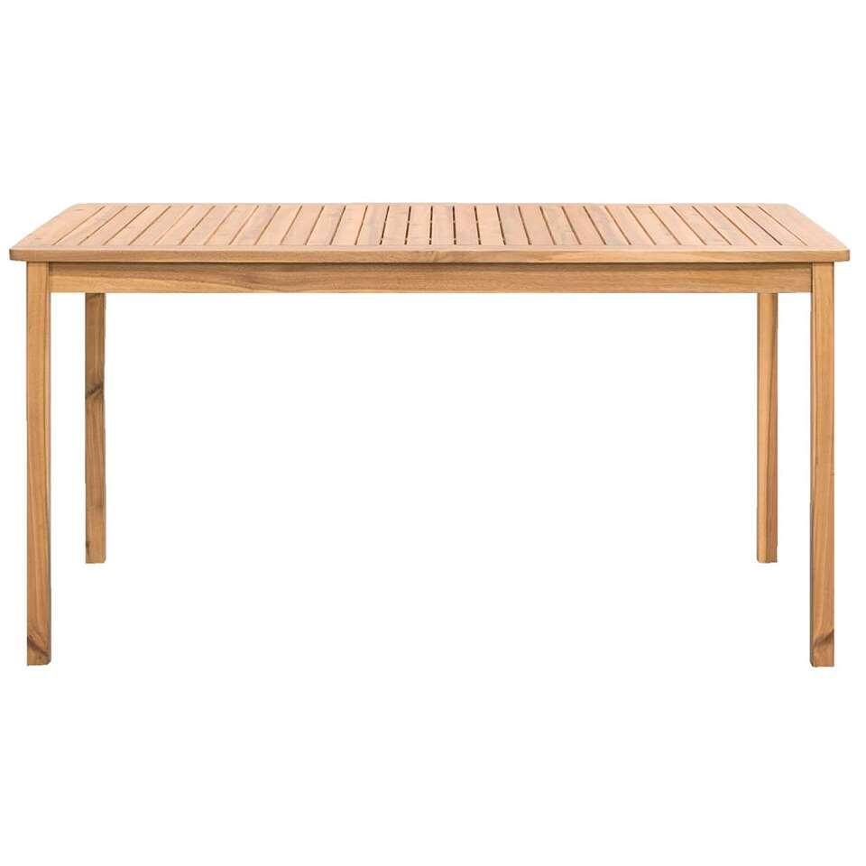 Tafel Salamanca - teakkleur - 150x90x65 cm - Leen Bakker