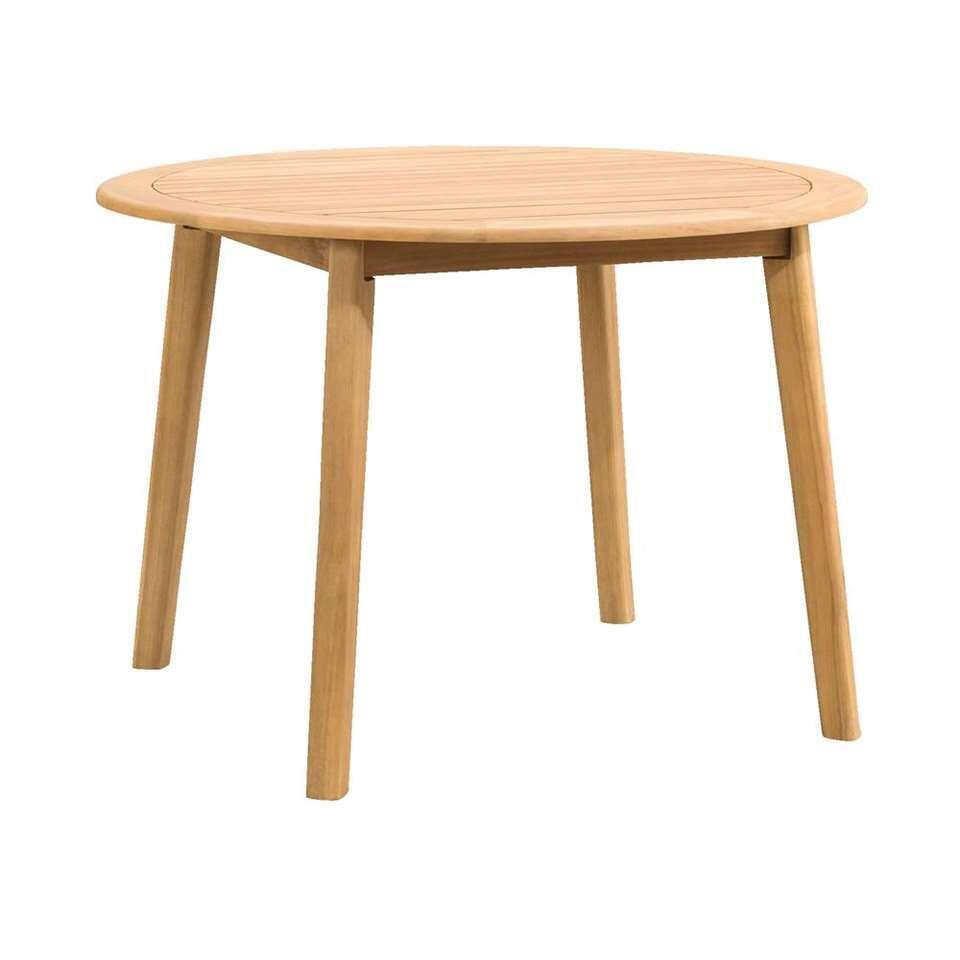 Le Sud tafel Dijon - acacia - 110x110x77 cm - Leen Bakker