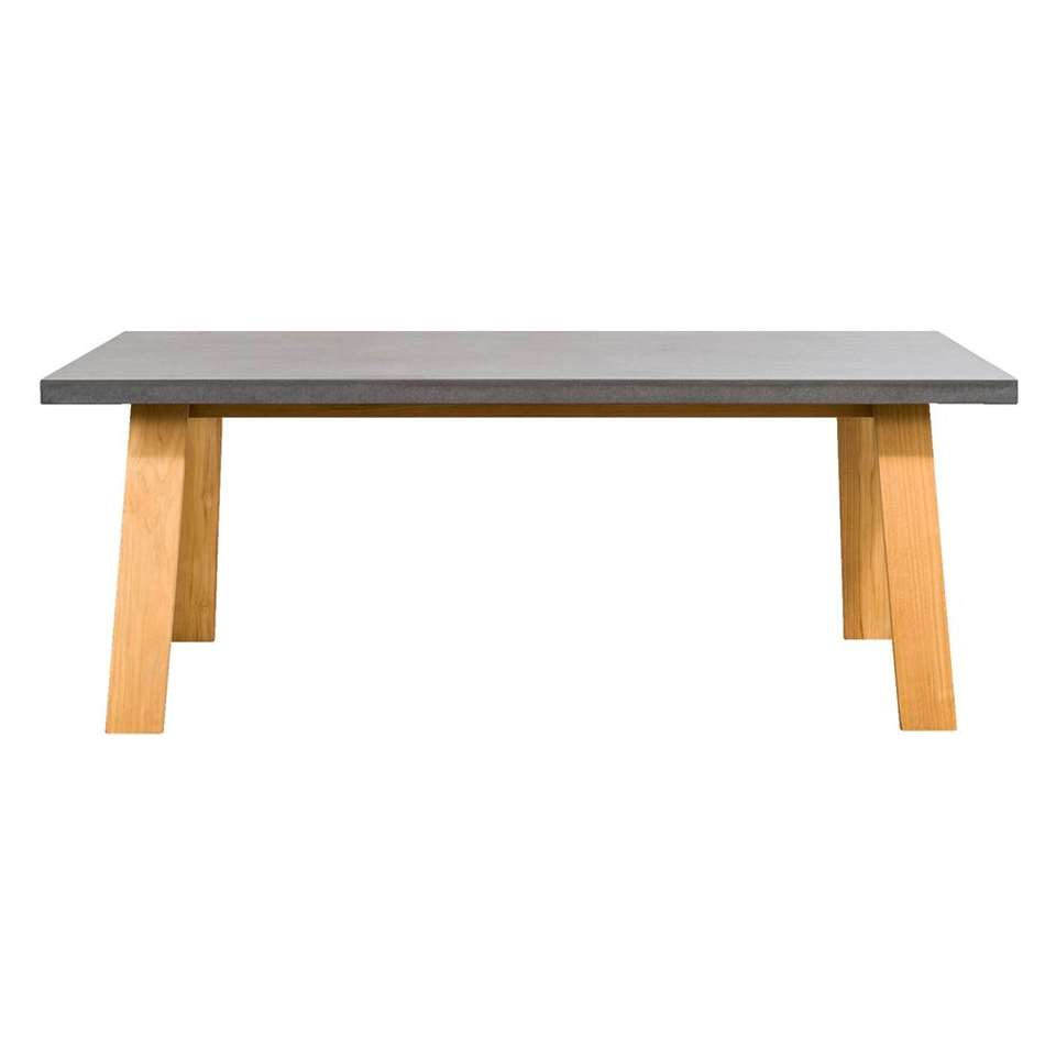 Le Sud tafel Limoges - 200x100x75 cm - Leen Bakker