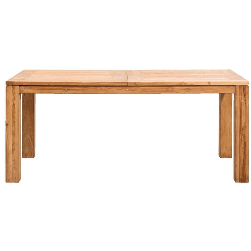 Le Sud tafel Antibes - teakkleur - 180x90x76,5 cm - Leen Bakker