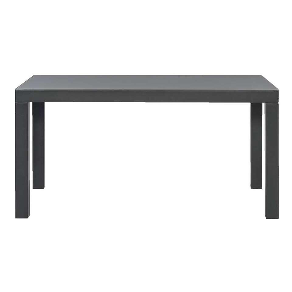 Le Sud table à rallonge Del Sol - anthracite - 150-268x90x75 cm