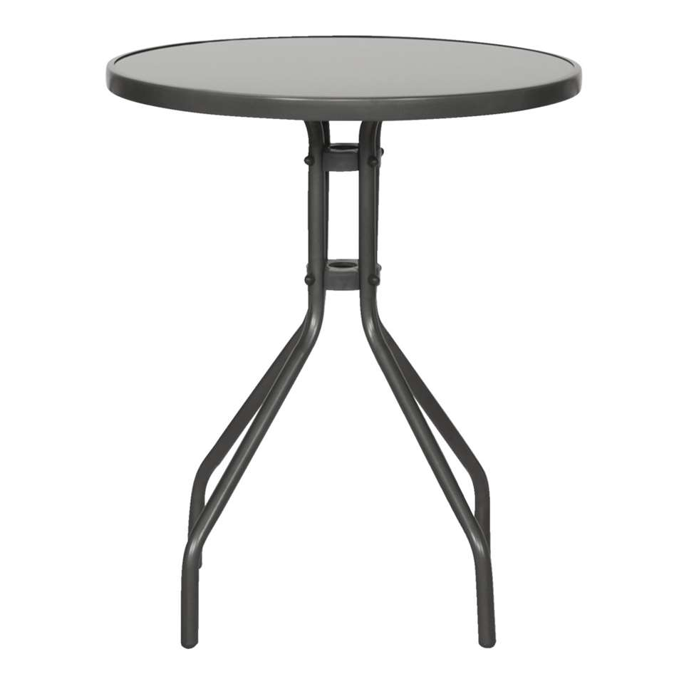 Tafel Riva - grijs - 71xØ60 cm - Leen Bakker