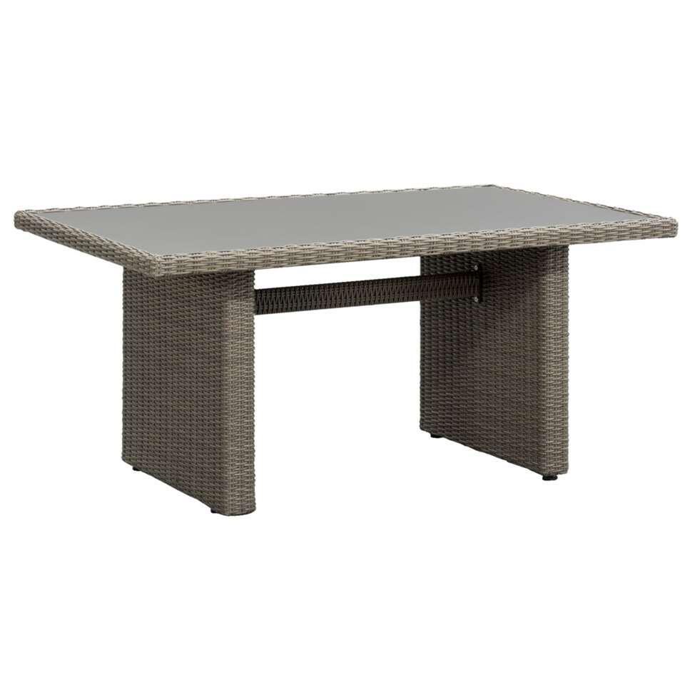 Le Sud tafel Pescara - antiek grijs - 145x85x66 cm - Leen Bakker