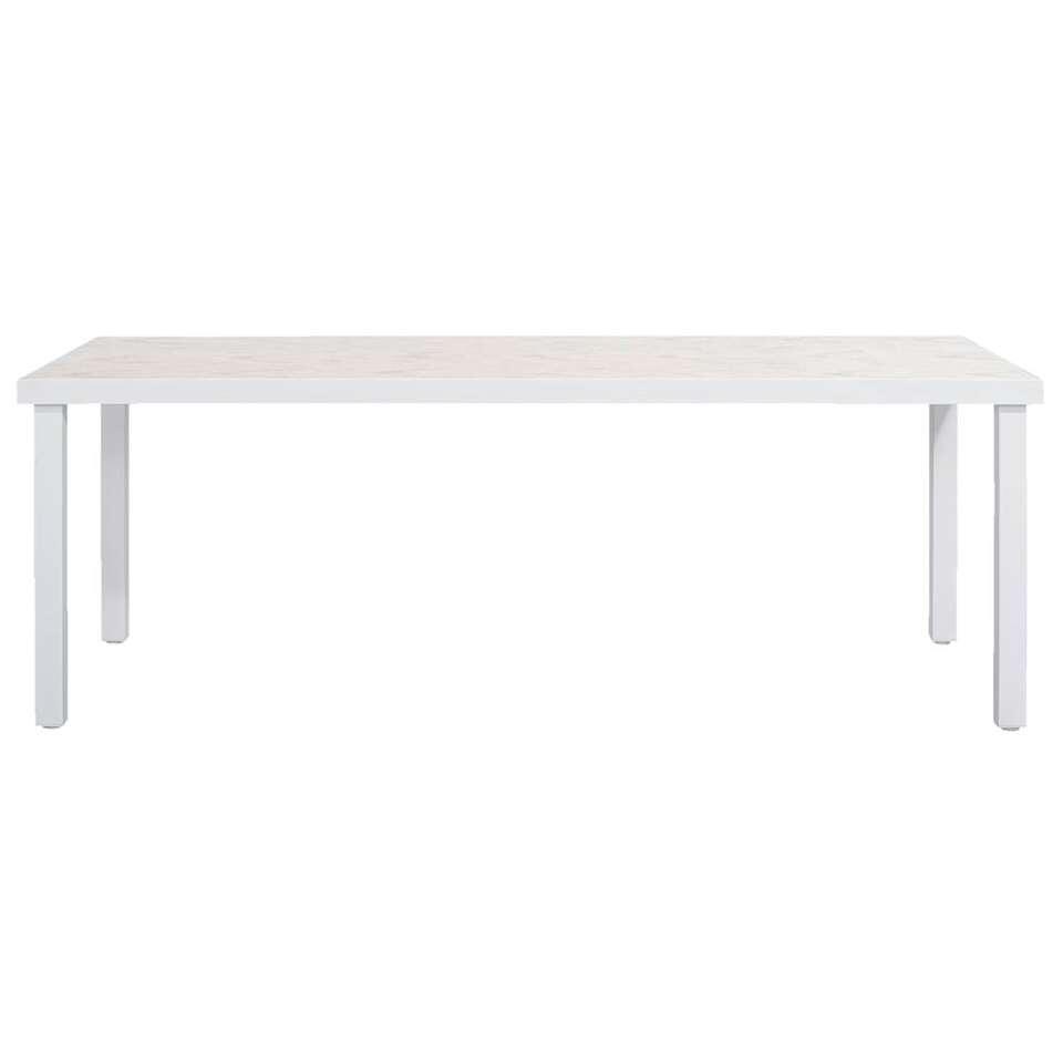 Le Sud tafel Toulon - wit - 210x90x74 cm - Leen Bakker