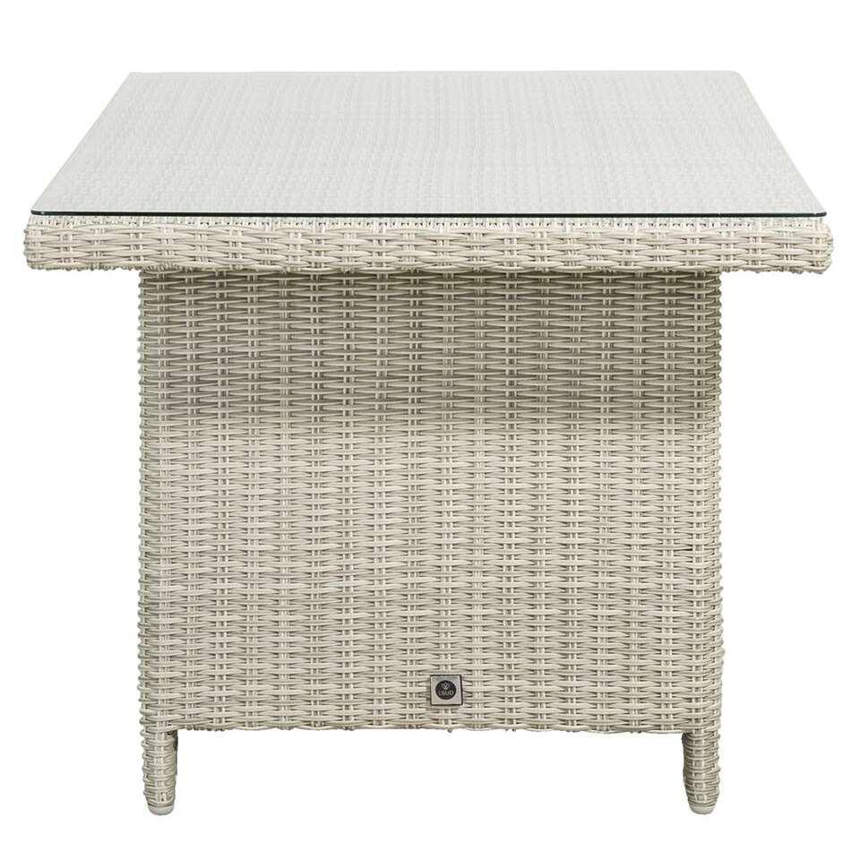 Le Sud tafel Millau - lichtgrijs - 146x84x68 cm - Leen Bakker