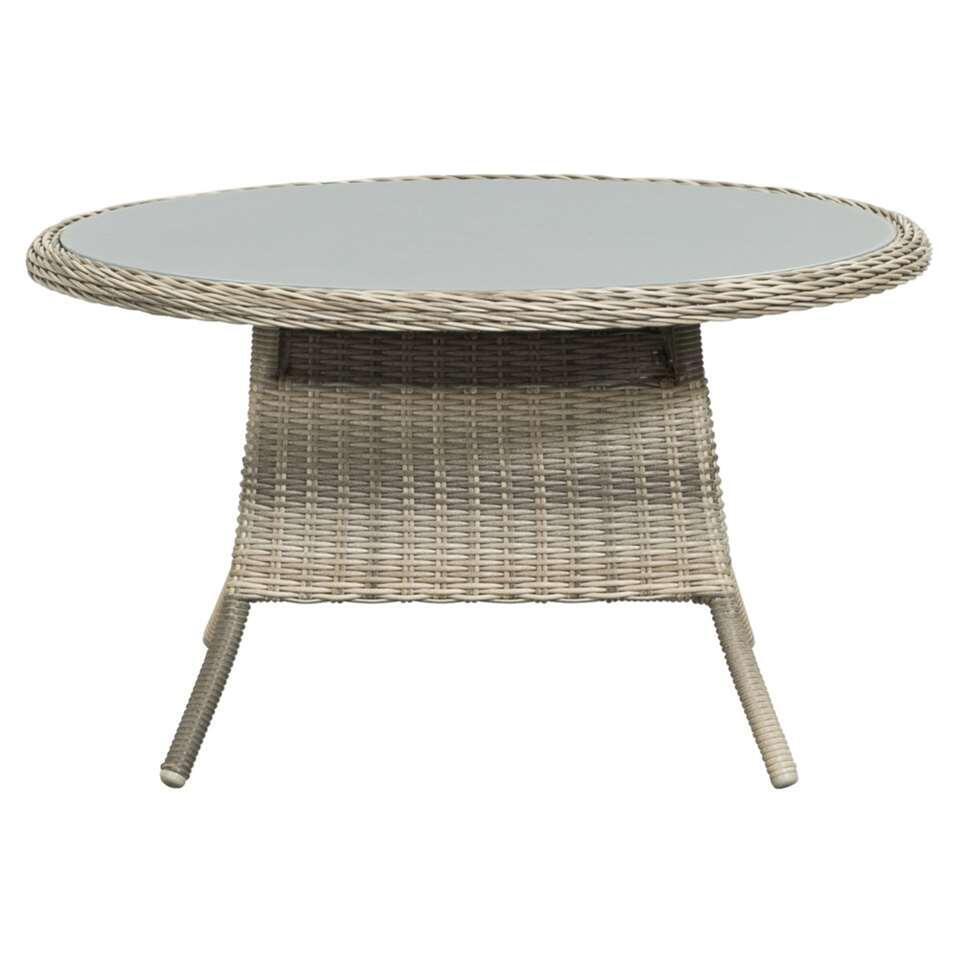 Le Sud tafel Verona - grijs - Ø100x56 cm - Leen Bakker