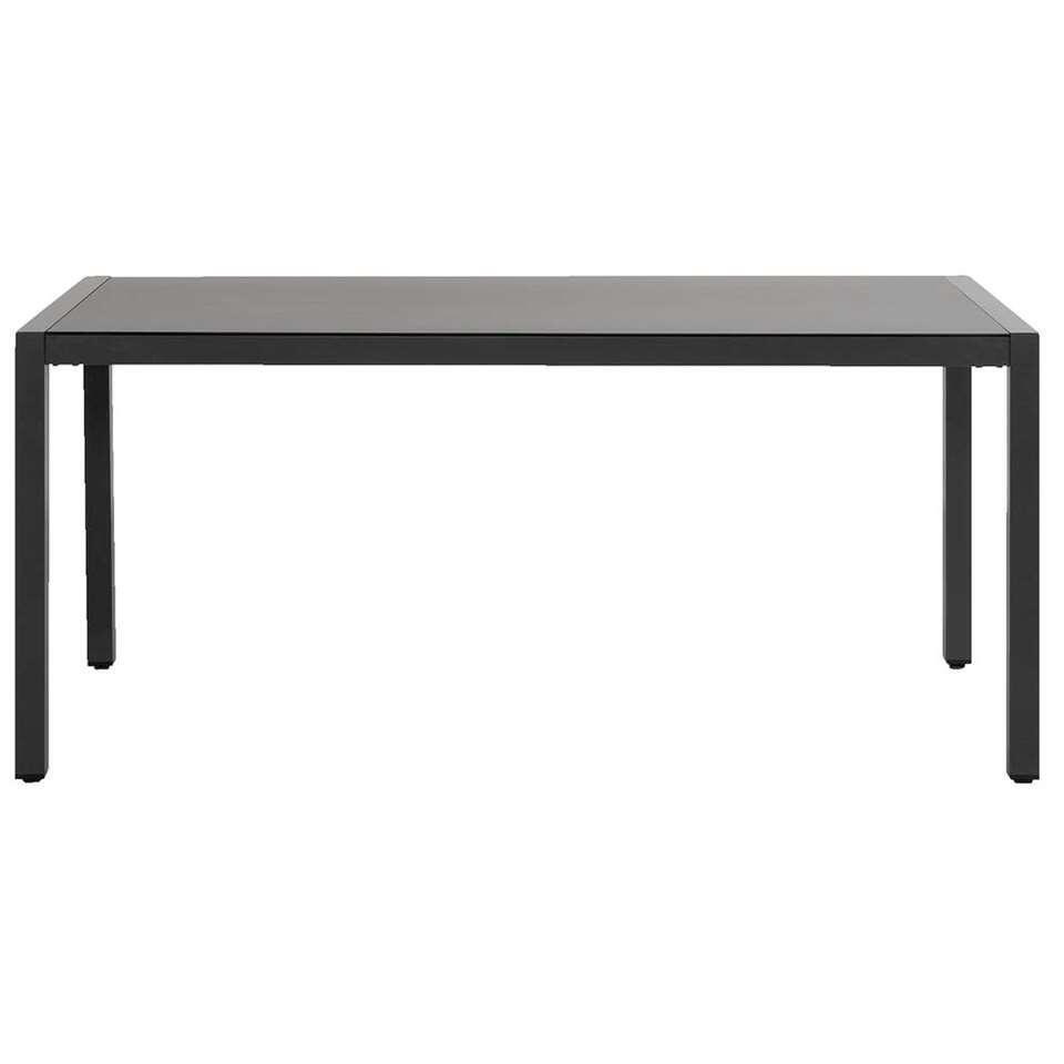 Hartman tafel Sophie - antraciet - 170x90x74 cm - Leen Bakker