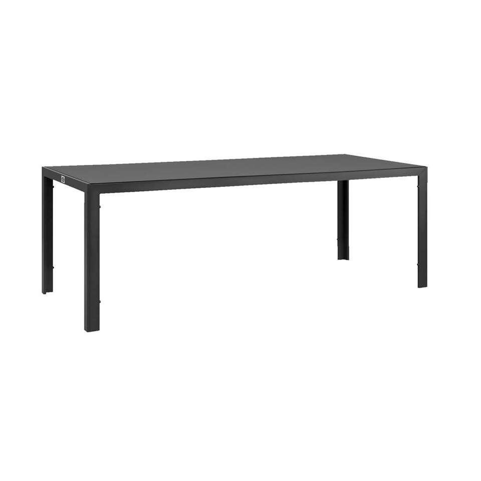 Le Sud tafel Savoie - grijs - 215x90x75 cm - Leen Bakker