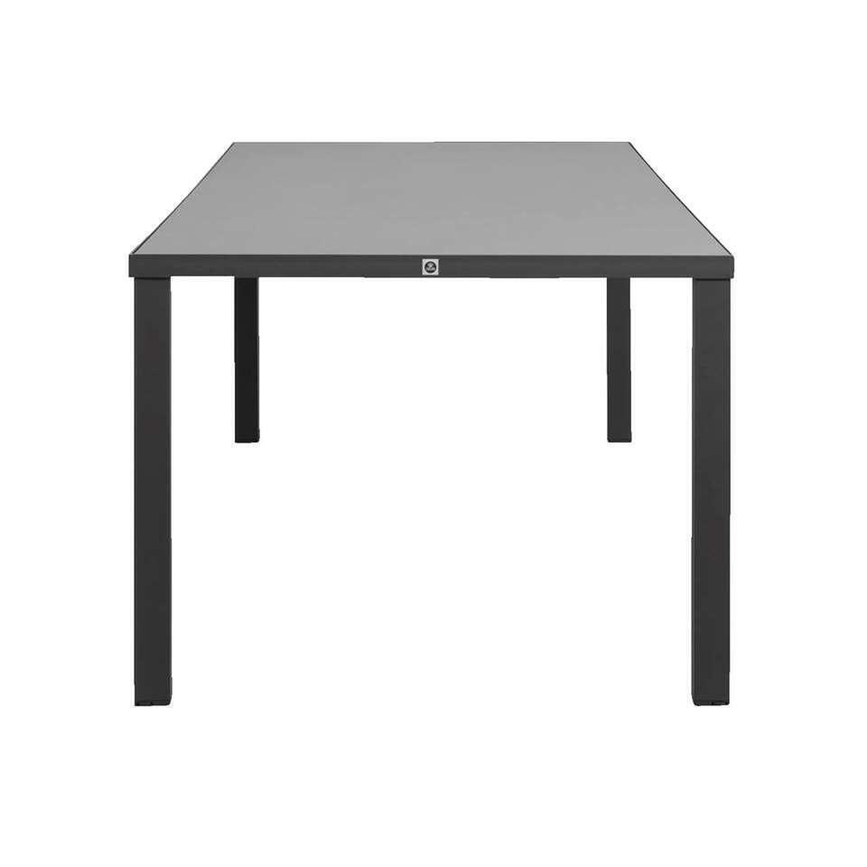 Le Sud tafel Limousin - grijs - 215x100x75 cm - Leen Bakker
