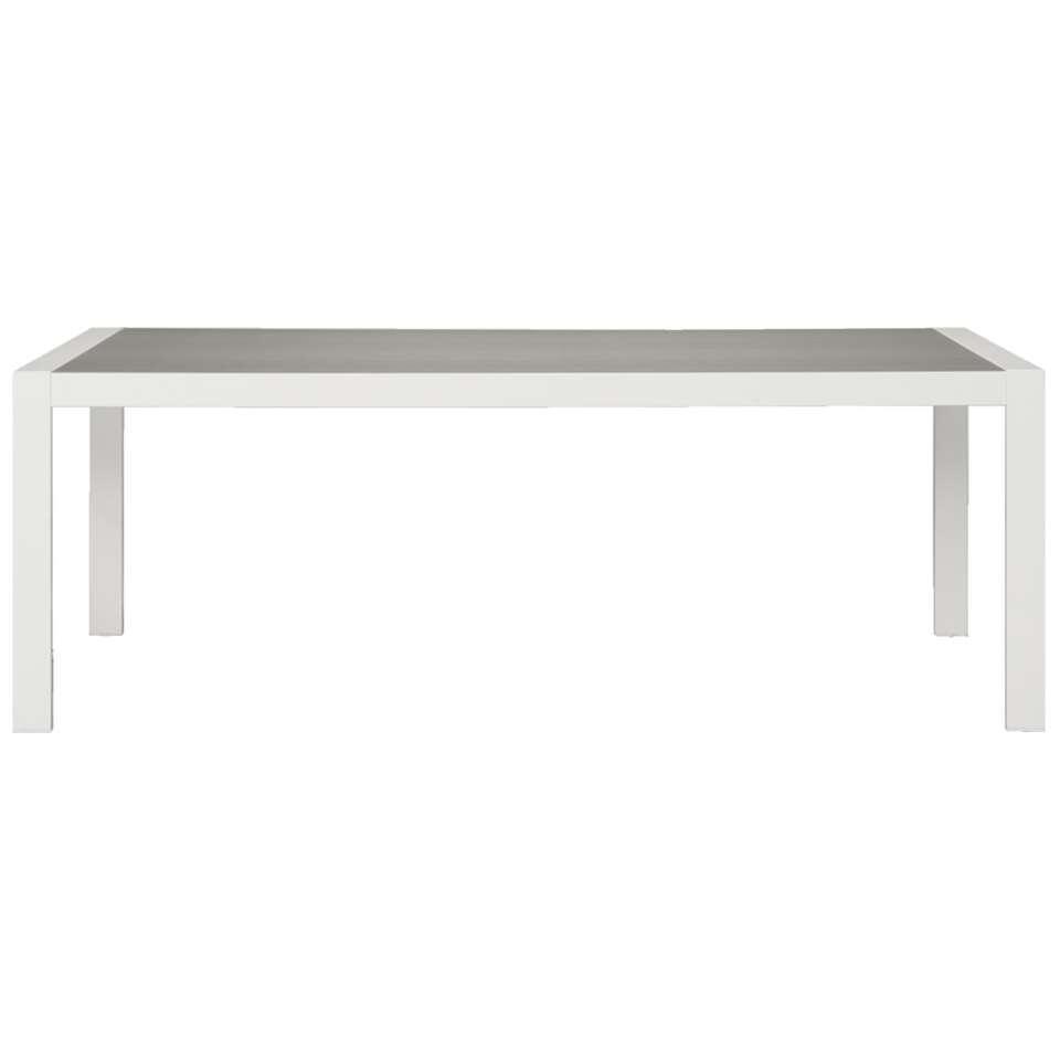 Le Sud tafel Valencia - wit - 214x97x75 cm - Leen Bakker