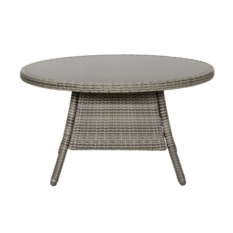 Le Sud tafel Denia - lichtgrijs - Ø100x55 cm - Leen Bakker