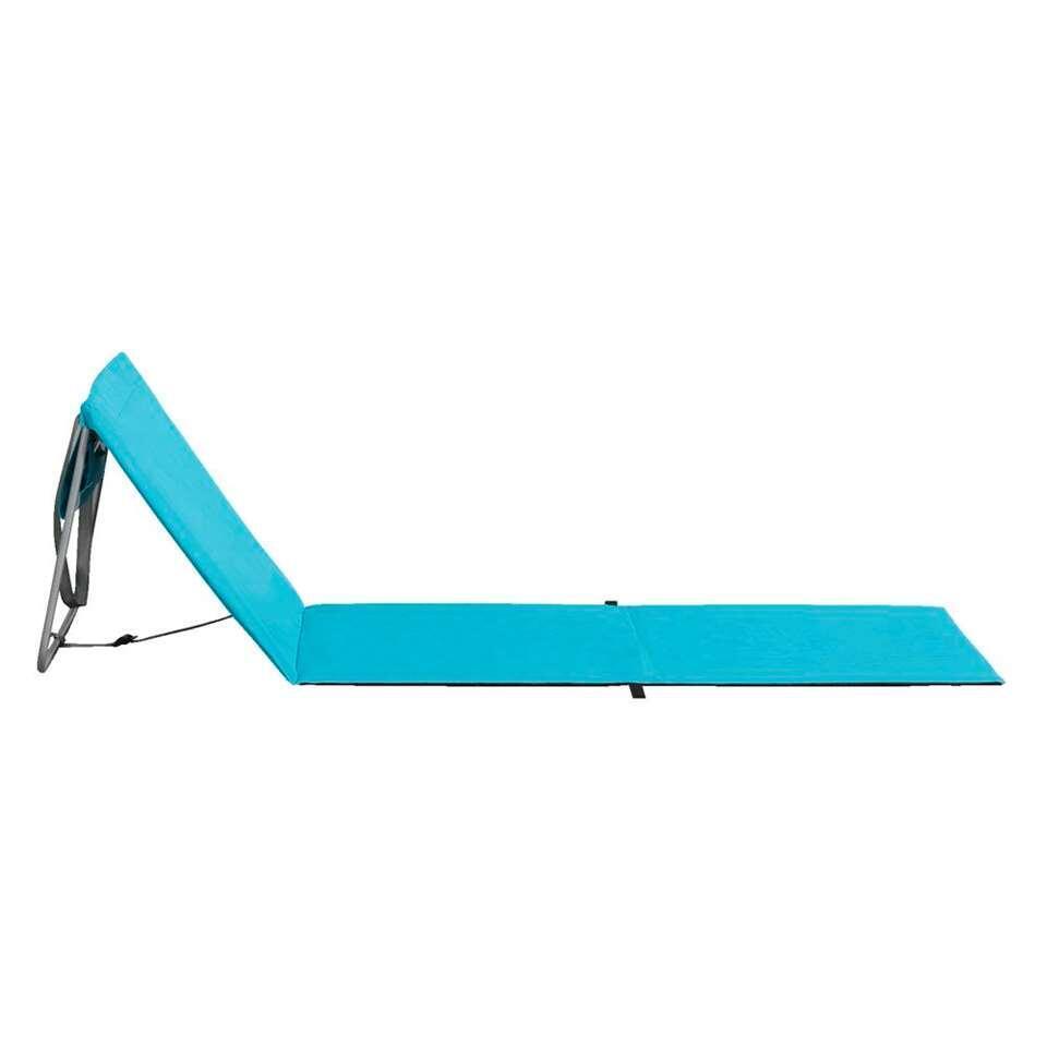 Strandbed Bahama - blauw - 160x54x54 cm - Leen Bakker