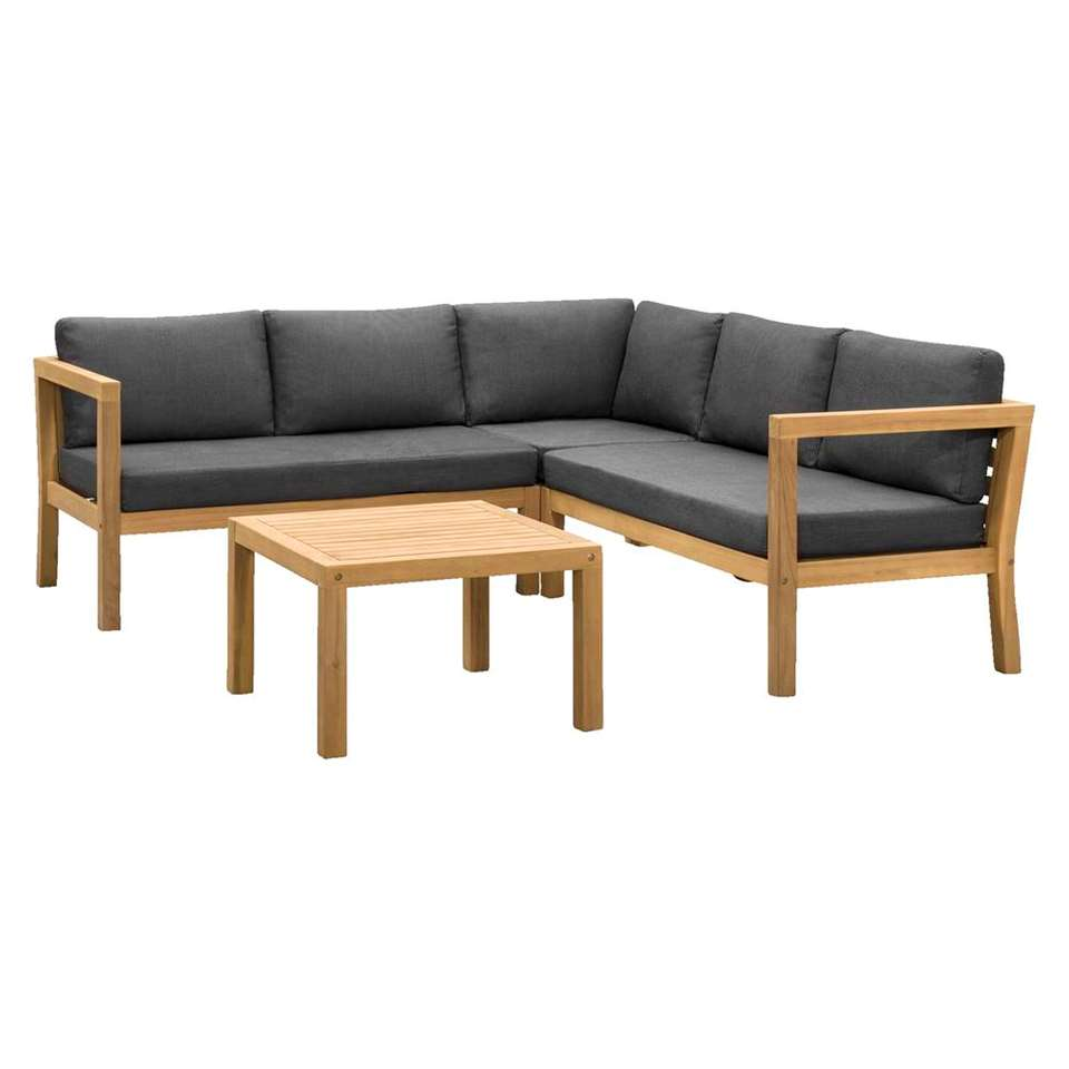 Le Sud salon lounge Jura - acacia - 4 pièces
