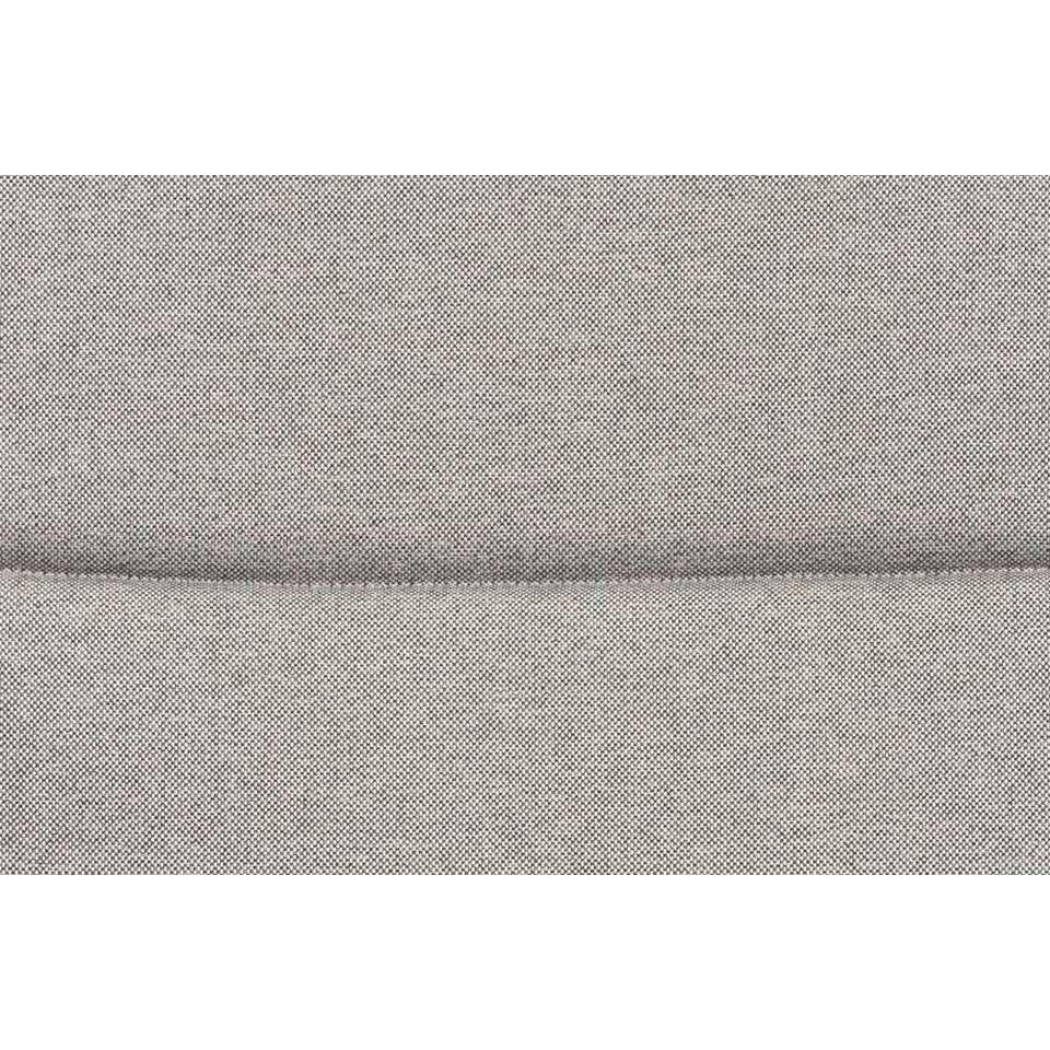 Kussen stapelstoel Menorca - grijs - 45x45x5 cm - Leen Bakker