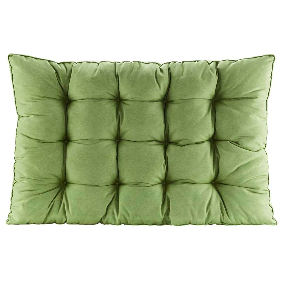 Loungekussen Florence - groen - 120x80 cm - Leen Bakker