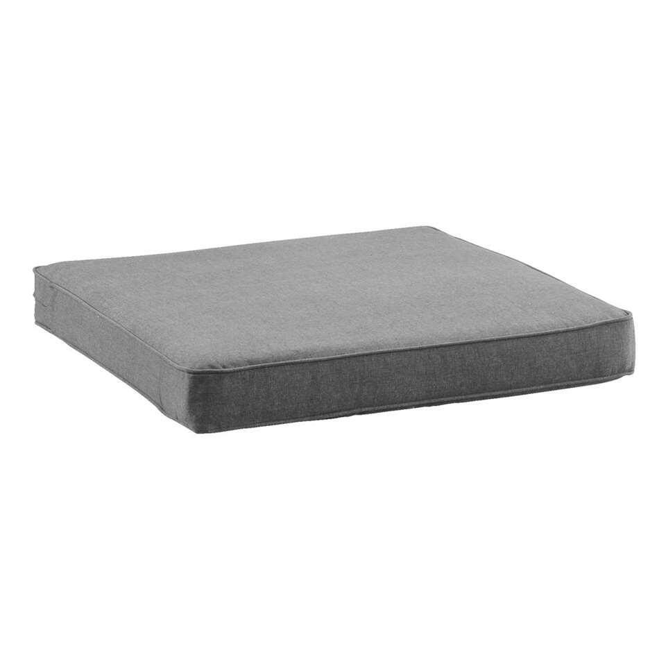Le Sud loungekussen Provence - grijs - 60x60 cm - Leen Bakker