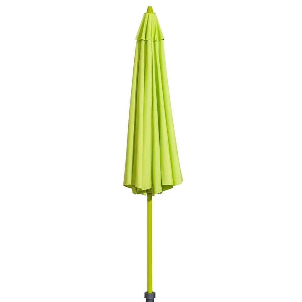 Parasol Mallorca - lime - Ø270 cm - Leen Bakker