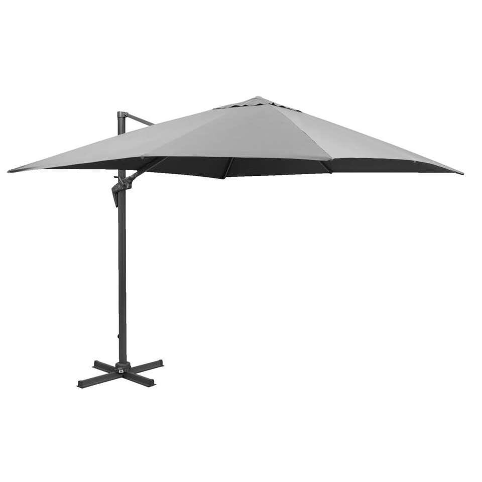Le Sud freepole parasol Calvi - antraciet - 250x250 cm - Leen Bakker