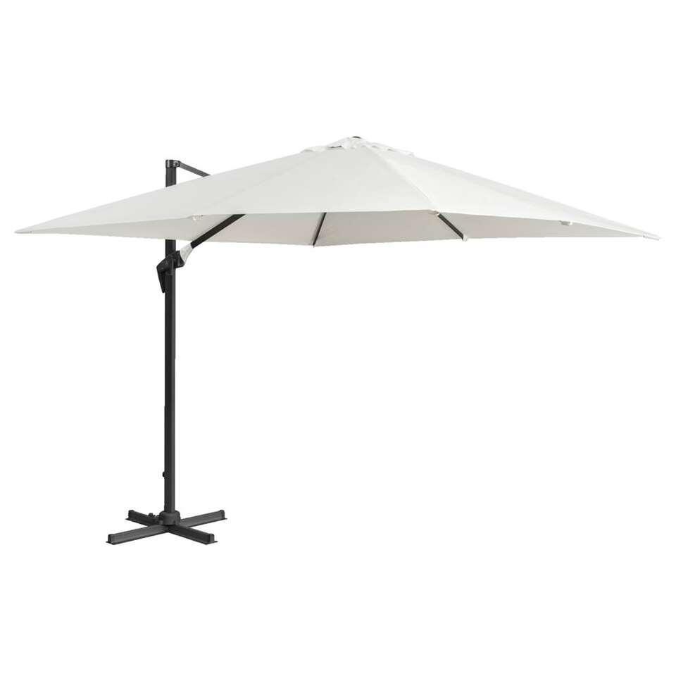 Le Sud freepole parasol Calvi - ecru - 250x250 cm - Leen Bakker