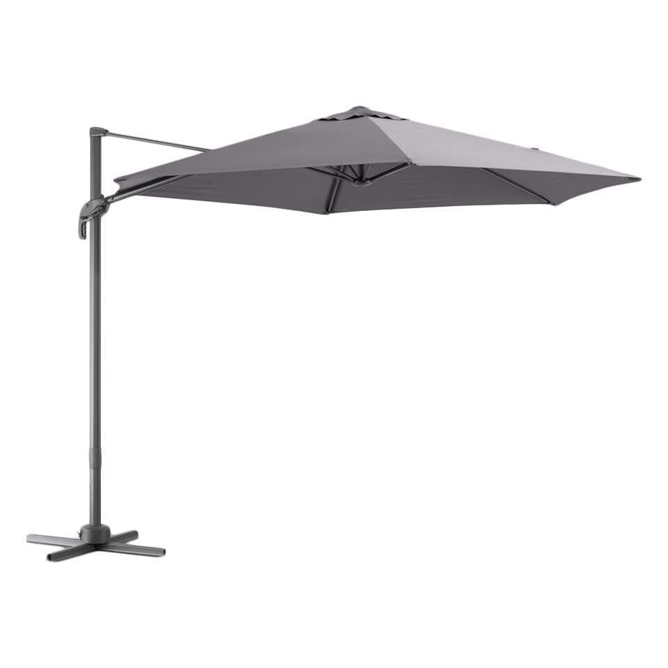 Le Sud freepole parasol Verdon - antraciet - Leen Bakker