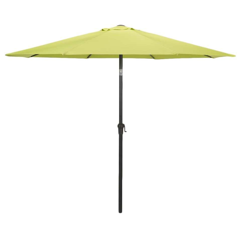 Le Sud parasol Dorado met tilt - lime - Ø300 cm - Leen Bakker