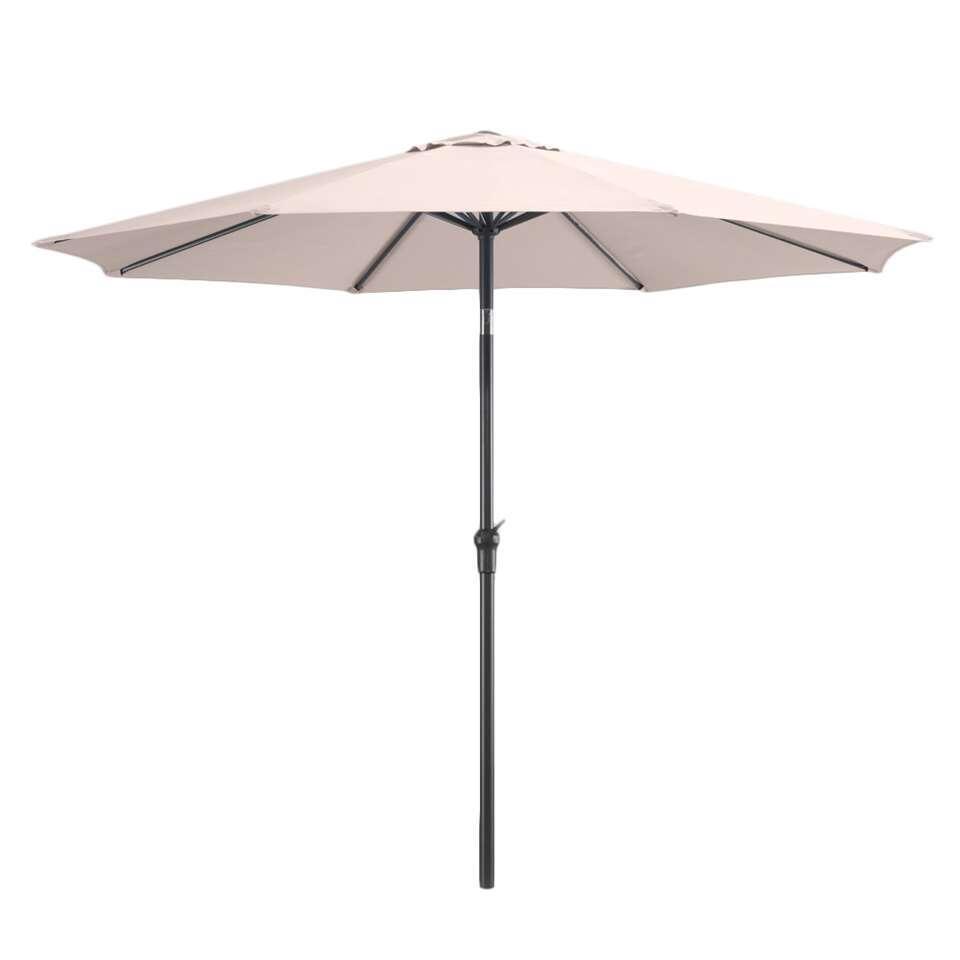 Le Sud parasol Dorado - taupe - Ø300 cm - Leen Bakker