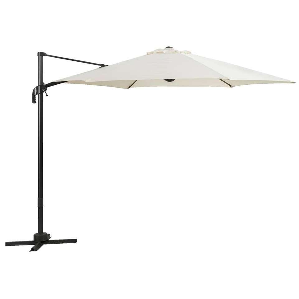 Le Sud freepole parasol Verdon - ecru - Ø300 cm - Leen Bakker