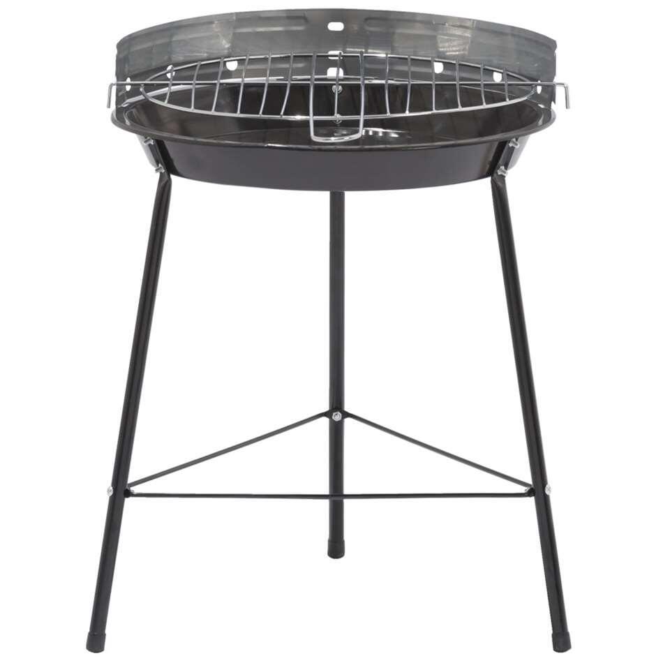 Barbecue Santa Cruz op 3 poten - zwart - Leen Bakker