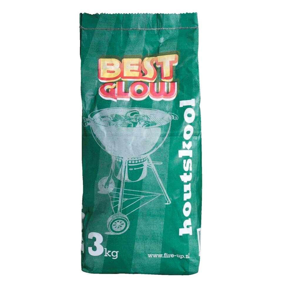 Best Glow houtskool - 3 kg - Leen Bakker