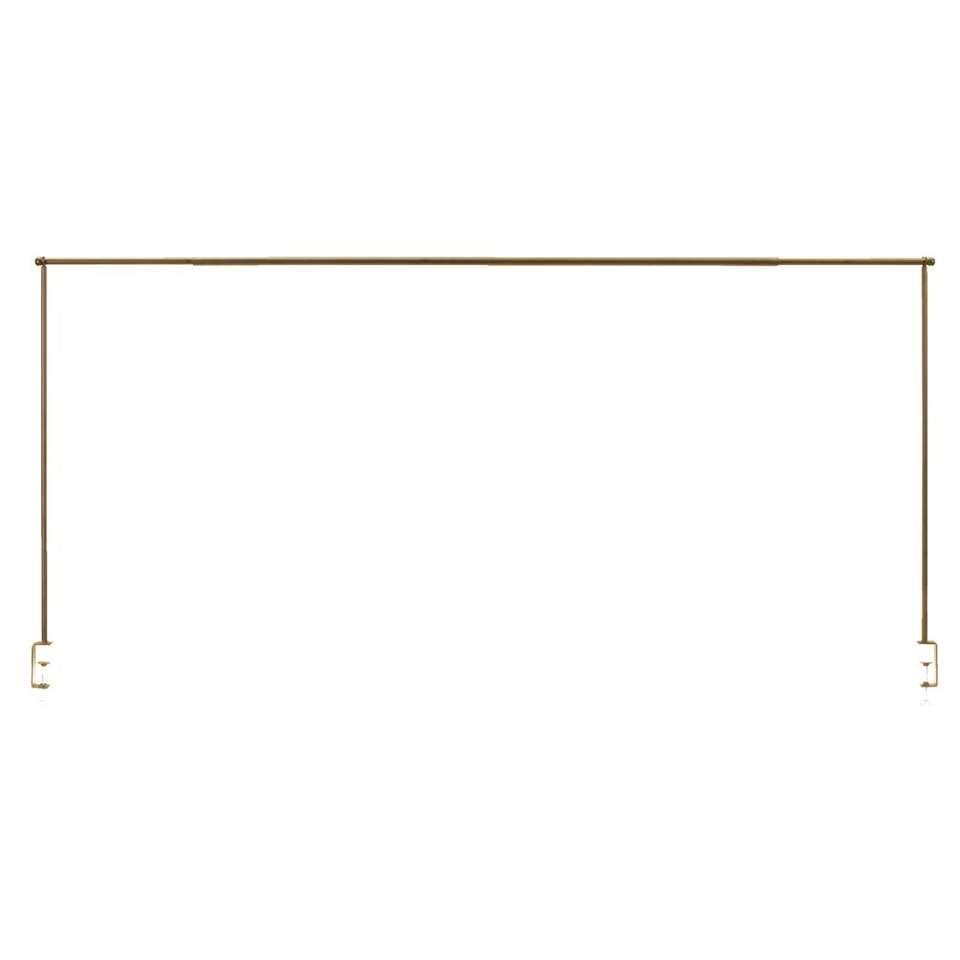 Tafelklem Ton - goudkleur - 90/97x140/250x8 cm - Leen Bakker