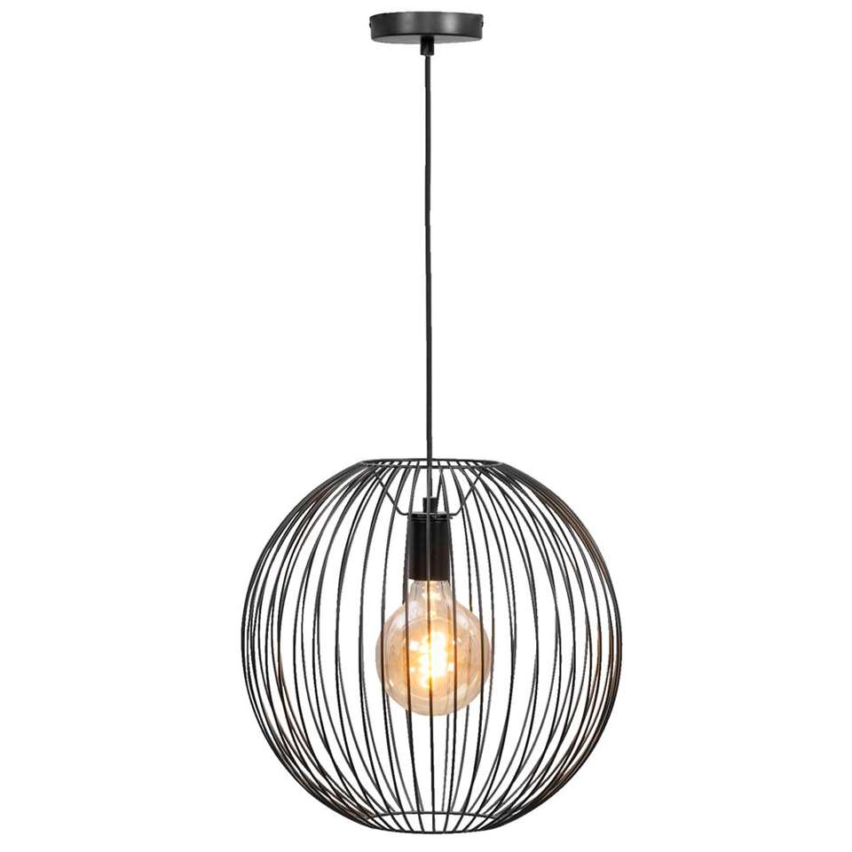 Hanglamp Xavier - zwart - 150x40 cm