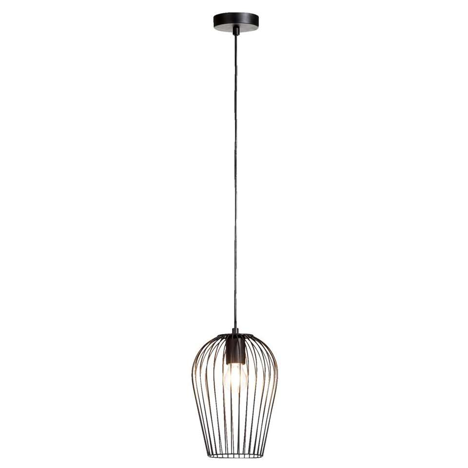 Hanglamp Lagos - mat zwart - 19 cm