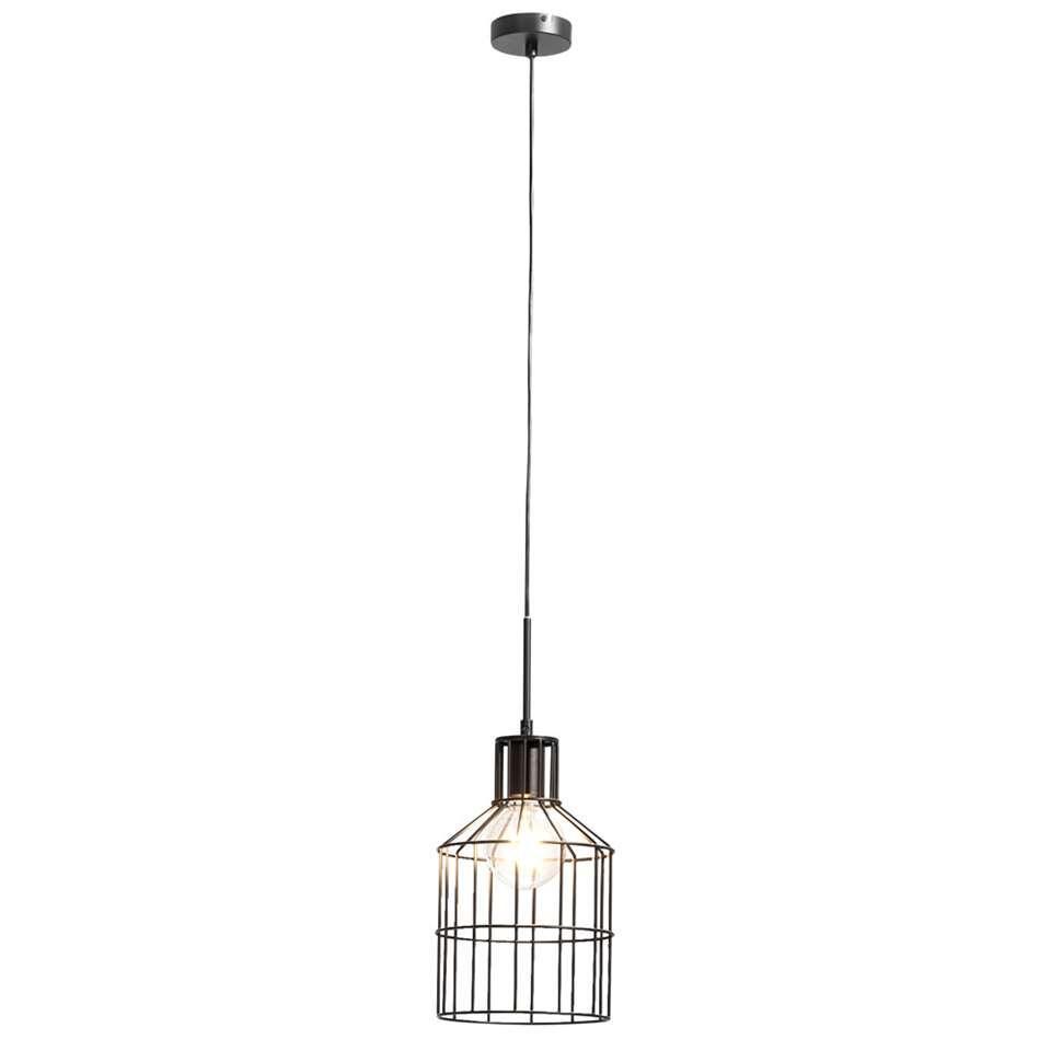 Hanglamp Mats - zwart - 20 cm