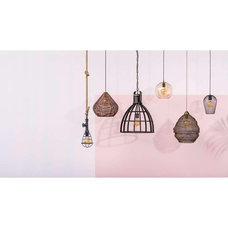 Hanglamp Thom - zwart - 65x47 cm