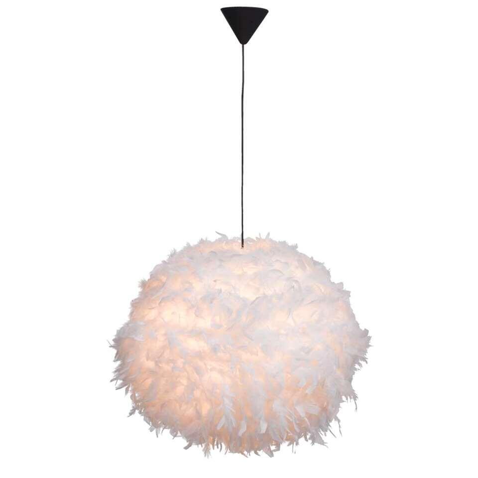 Hanglamp Veerle - wit - 165x50 cm