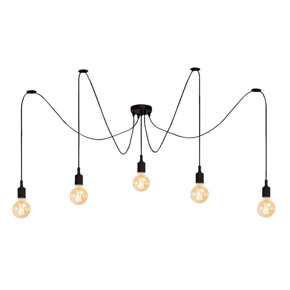Hanglamp Adelaide - zwart - Leen Bakker