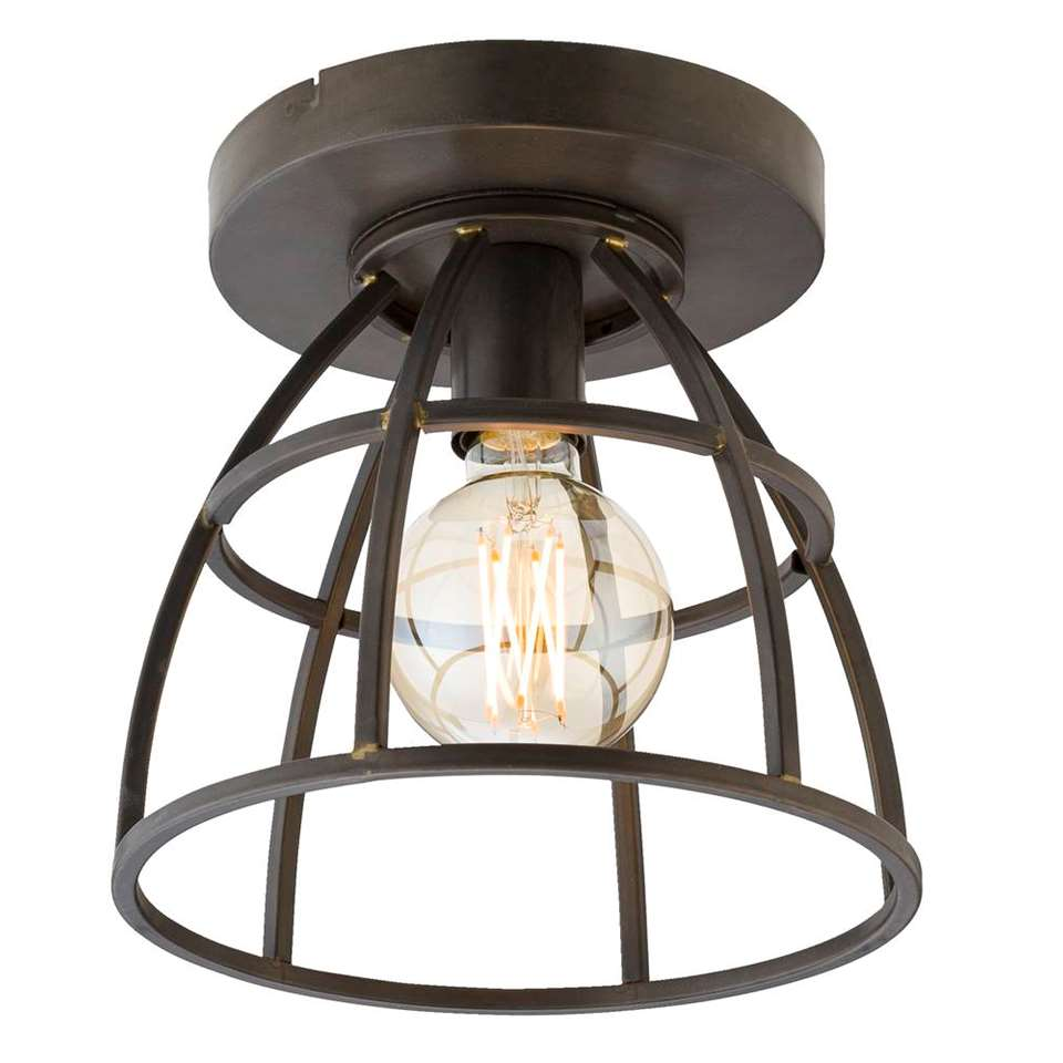 Plafondlamp Thom - antiek zwart