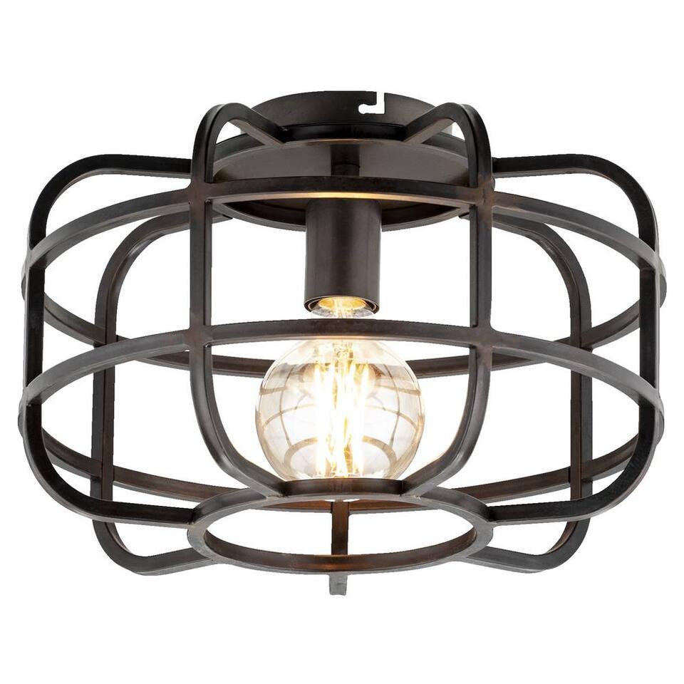 Plafondlamp Roland - zwart
