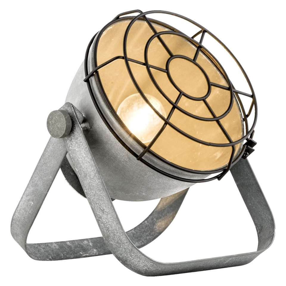 Tafellamp Victor is een metalen draadlamp met een stoere, industriële en eigentijdse look. Deze lamp geeft een sfeervol en prettig licht. Inclusief recupel.
