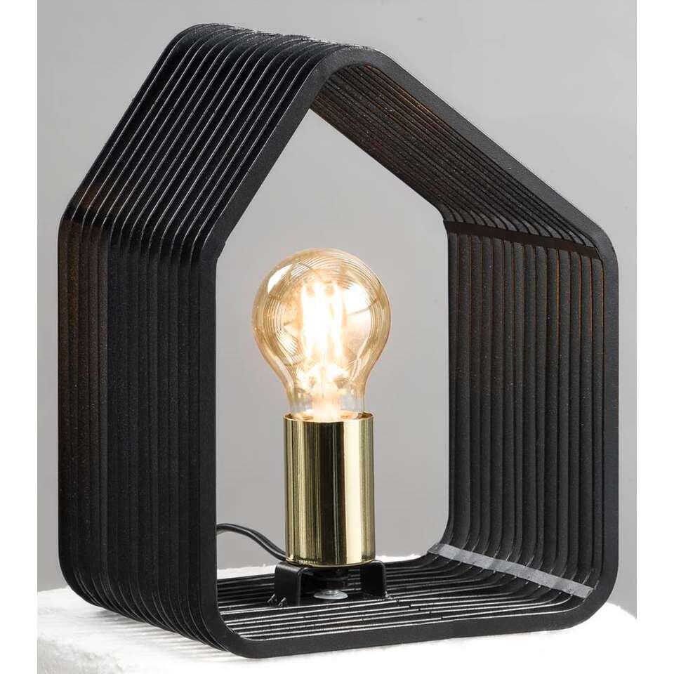 Lampe de table Auckland - noire - 20x14x25 cm
