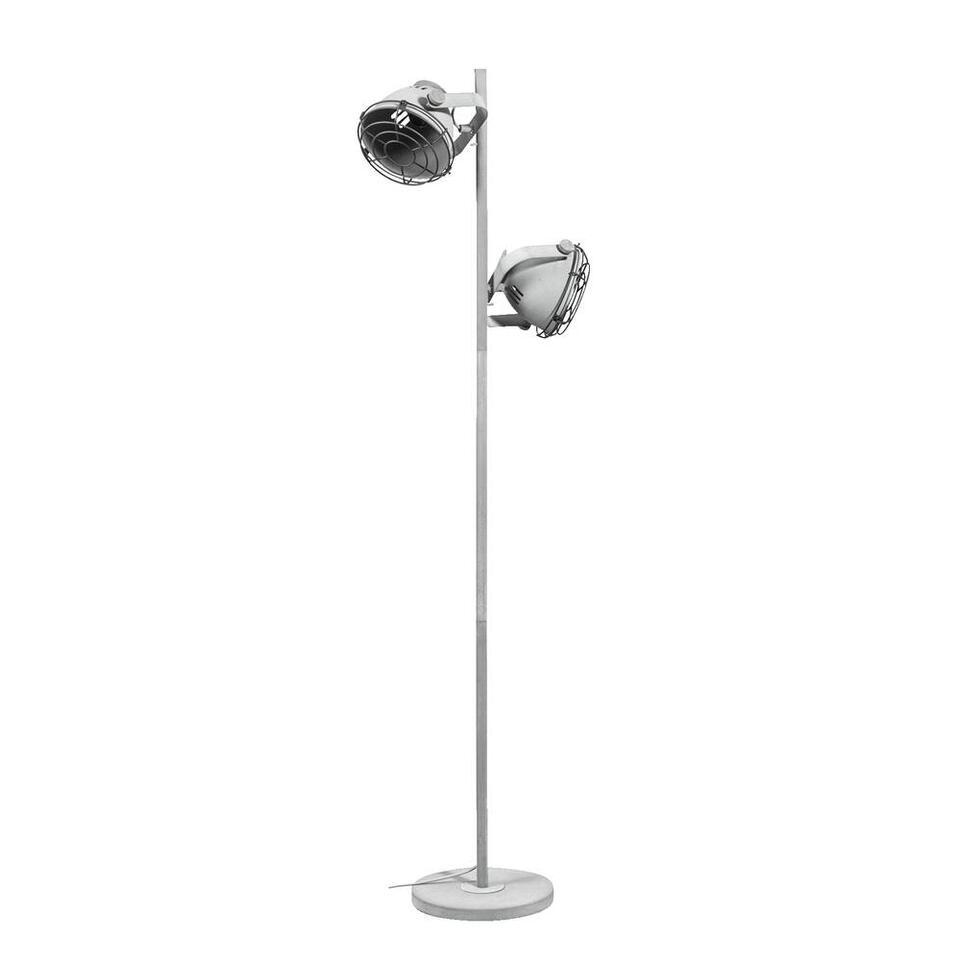 Vloerlamp Boyd - cementkleur