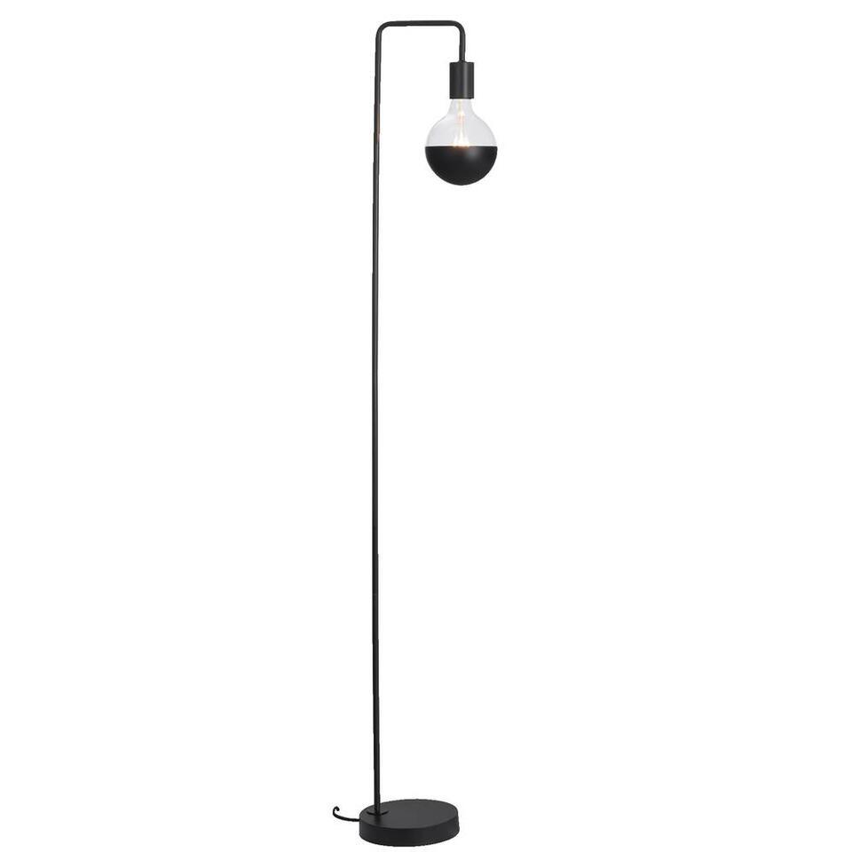 Vloerlamp Praag - zwart