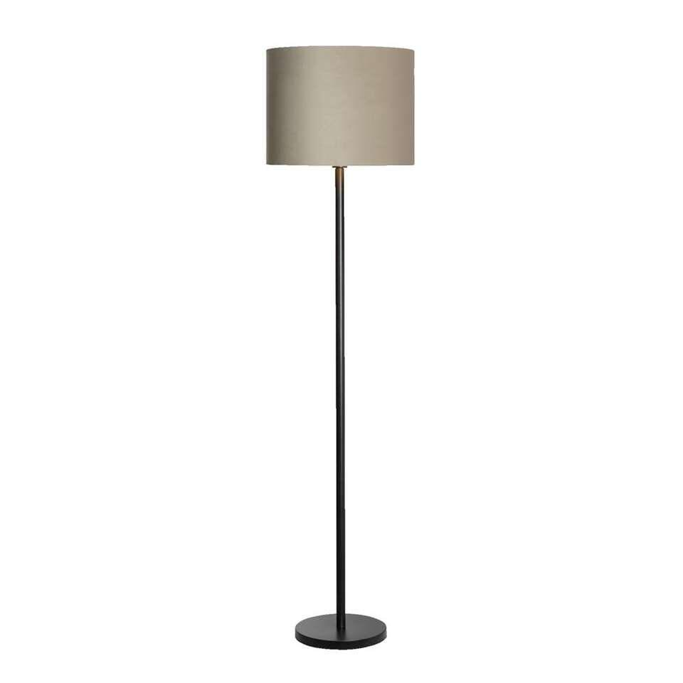Voet vloerlamp Kaapstad - zwart - 149x25x25 cm